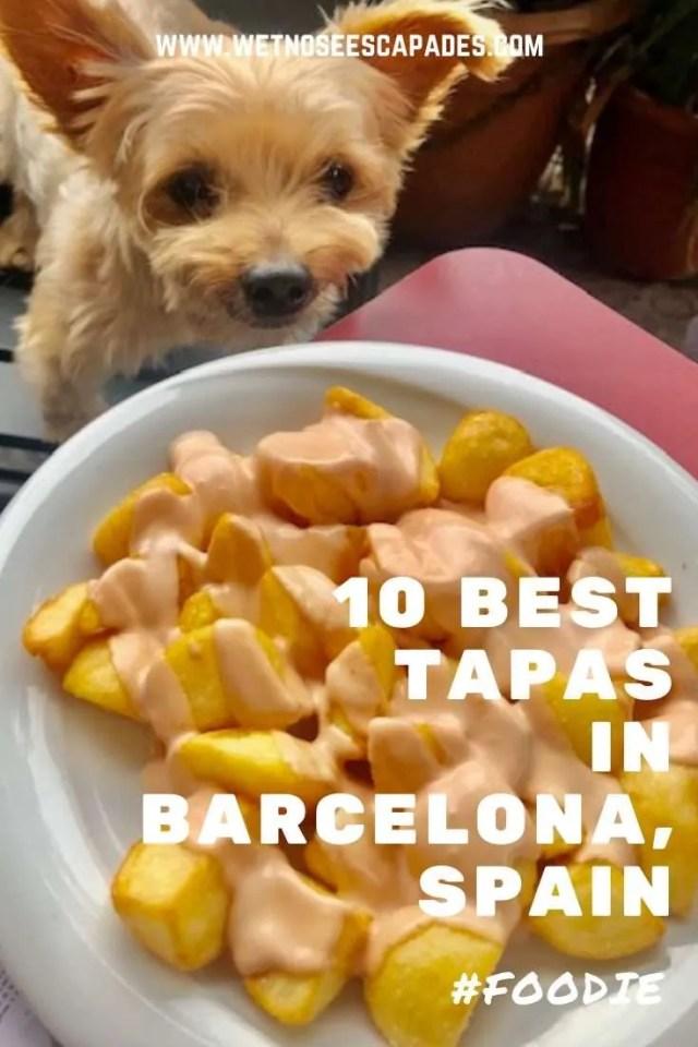 10 BEST Tapas in Barcelona, Spain pinterest