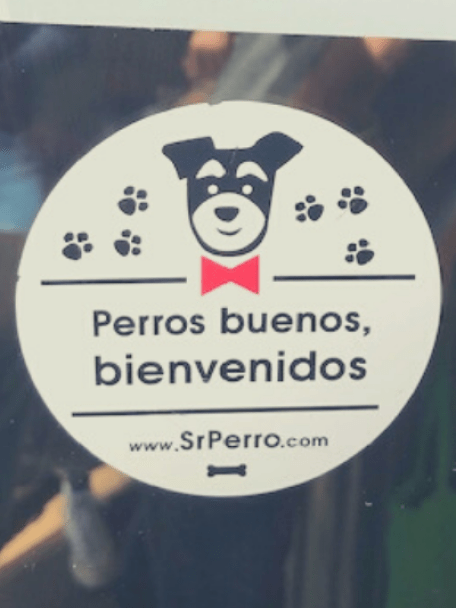 dog friendly restaurants in Spain