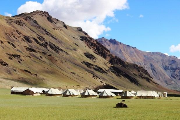 Ladakhs tents