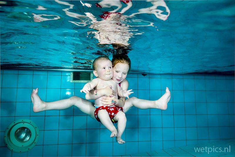 Baby-, Peuter- en Kleuter Portretfotografie Onderwater