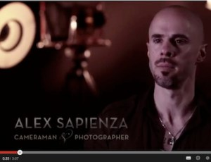 Portrait of the Artist:  Alex Sapienza from The Analogue Studio, Dublin