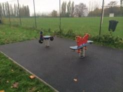 rubber surface council park