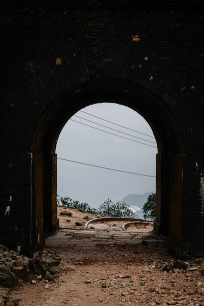 Bunker in Hải Vân Pass, Vietnam. WeTravelinLove
