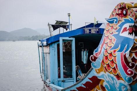 Hue Vietnam Dragon boat tour