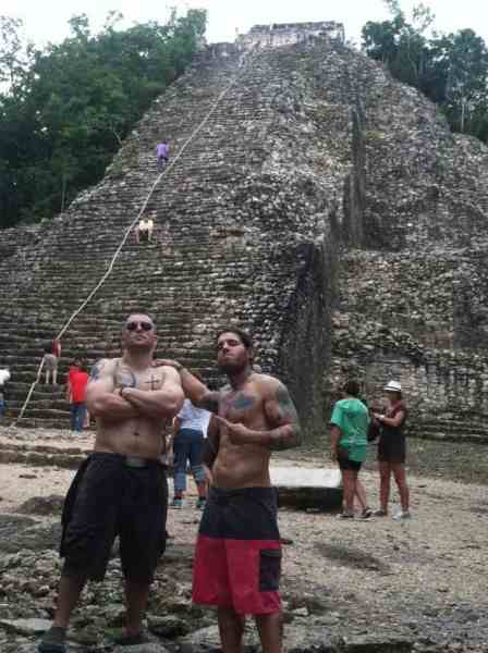 Best Things to Do in Cancun Mexico Jay Kali Coba Ruins