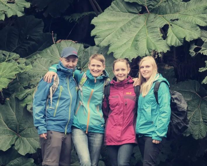 Mit Nina und Patricia haben wir uns auf den Weg zum Vulkan gemacht