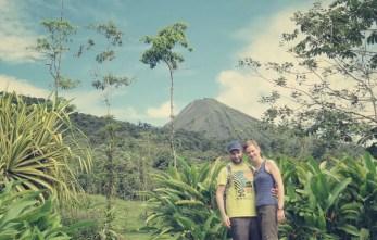 Der Volcán Arenal war fast immer zu sehen