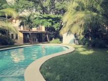 Unser Pool im Villas Macondo