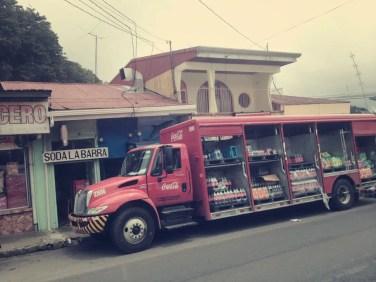 Eindrücke während der Busfahrt nach La Fortuna