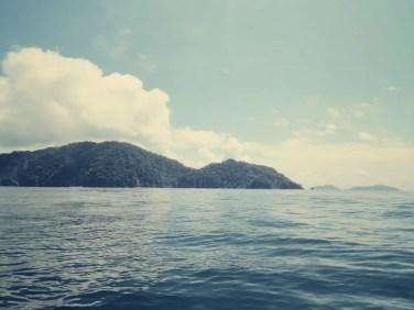 Vorbei an der Küste von Montezuma