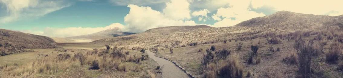 Panorama Cotopaxi