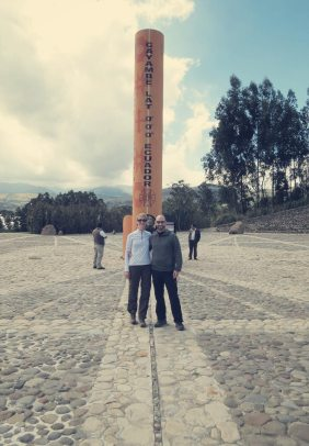 Mitad del Mundo, the real