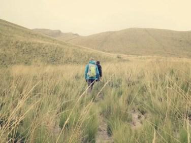 Auf geht's zum Gipfel auf 4286 m