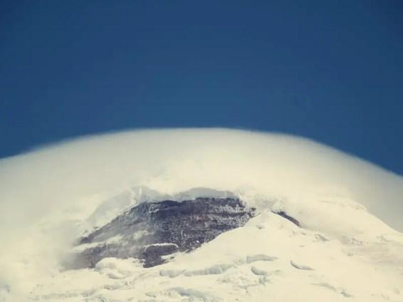 Spitze vom Cotopaxi