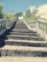 Treppe zur Virgen