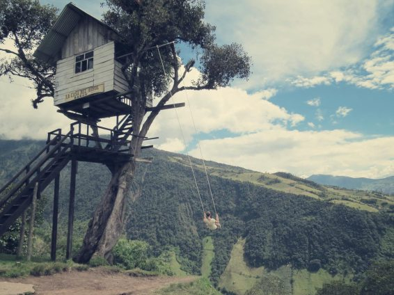 Baños, casa arbol, casa del arbol, ecuador, erfahrungsbericht, flashpacker, hiking, landscape, nature, reisebericht, schaukel, trekking, vulkan, tungurahua, weltreise