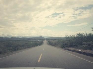 In Peru sind die Straßen gut ausgebaut