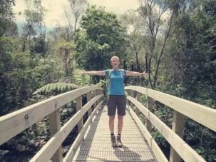 Sooo viel Platz auf einer Tip Top Brücke ...