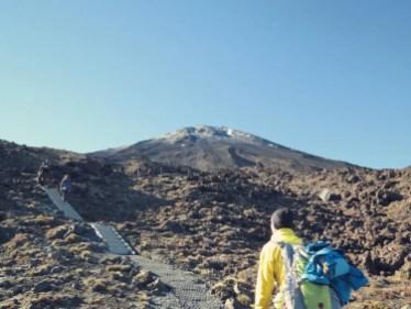 Auf gehts zum South Crater