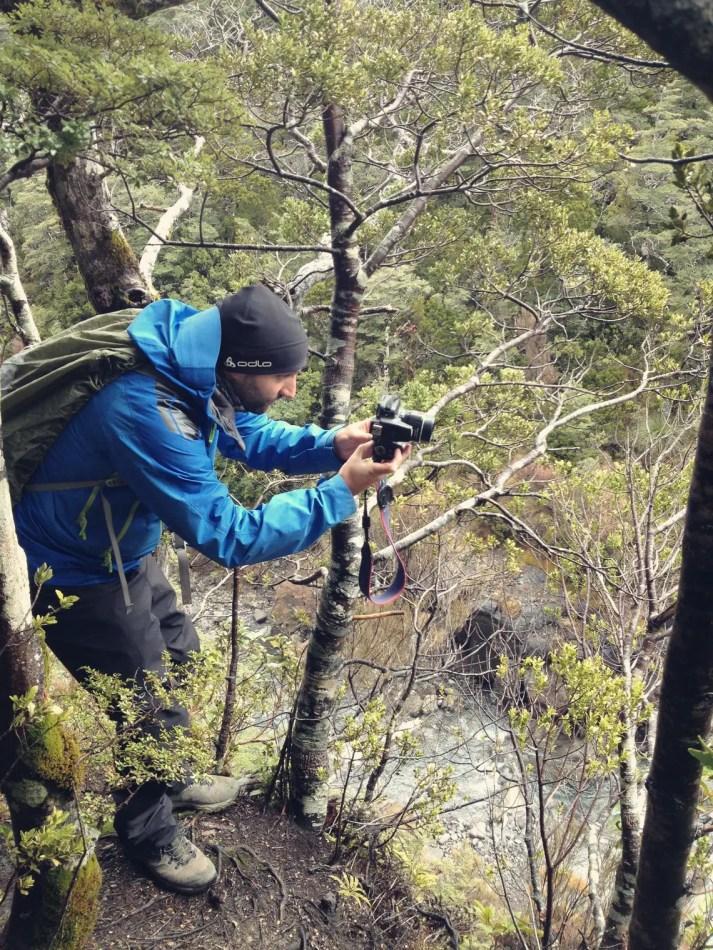 Martin auf Location-Jagd