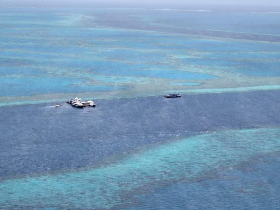rundflug Great Barrier Reef Heart Reef