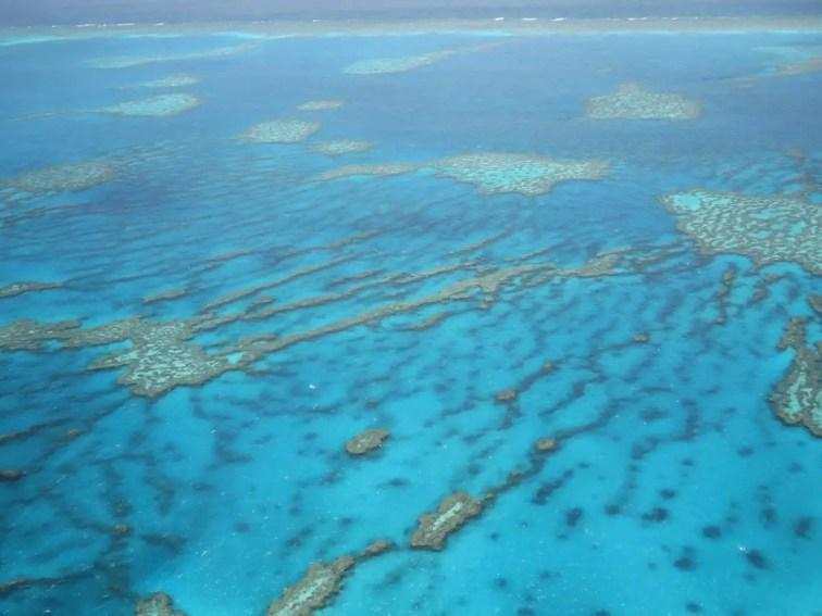 rundflug Great Barrier Reef Heart Reef