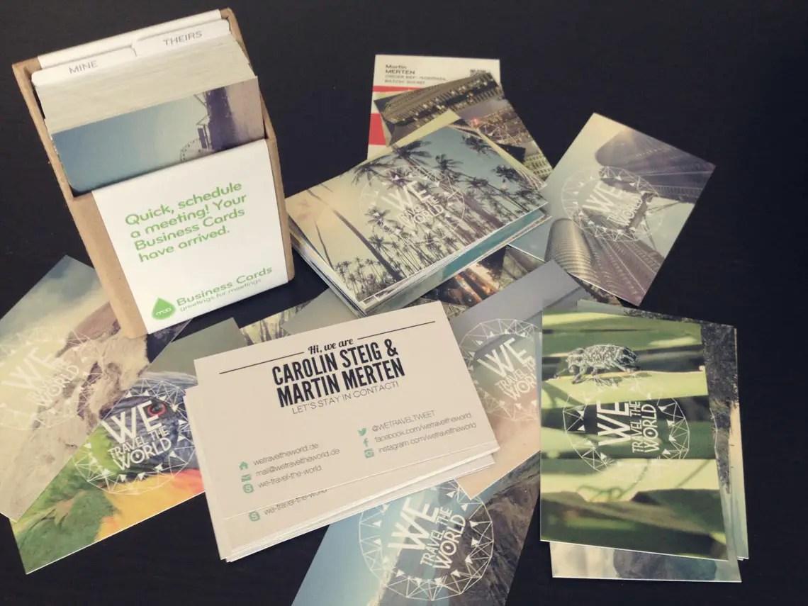 Erfahrungsbericht Visitenkarten Von Moo