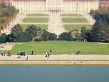 Park Schloss Schönbrunn