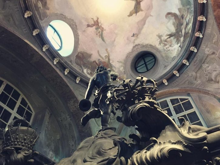 Detail der Kaisergruft Wien