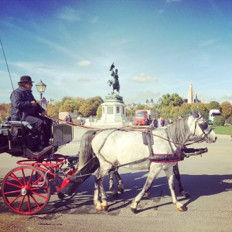 Kutsche in Wien
