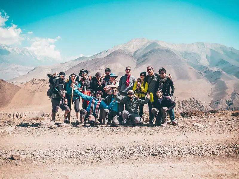 Annapurna Circuit Trek alleine wandern