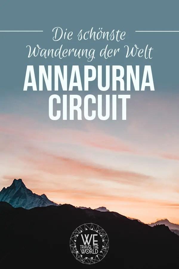 Nepal wandern: 9 gute Gründe für den Annapurna Circuit, die schönste Mehrtageswanderung der Welt #nepal #trekking #wandern #reisetipps