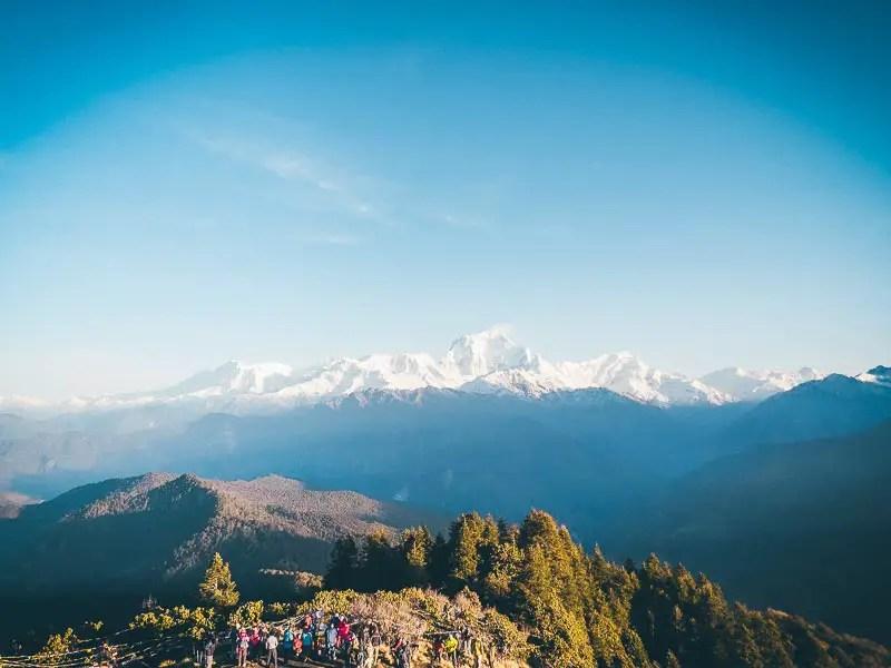 Annapurna Poon Hill Blick