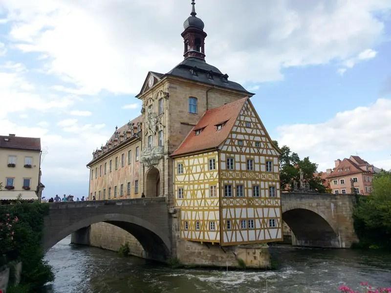 Bamberg Sehenswürdigkeiten: Altes Rathaus