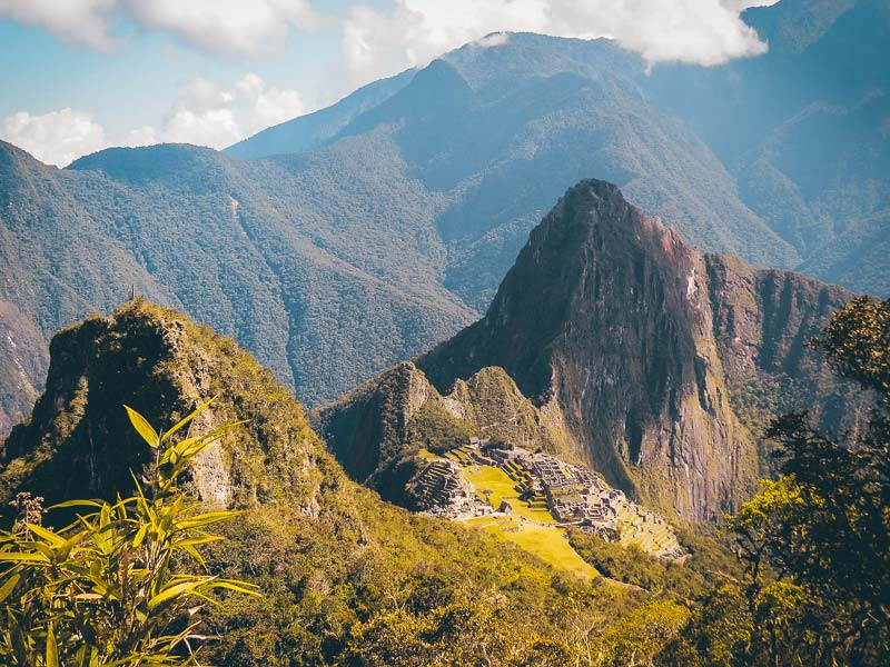 Peru Rundreise Blick auf Machu Picchu