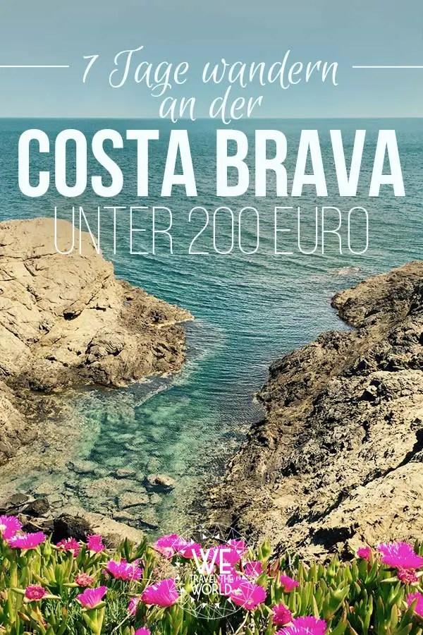 Spanien wandern: Wandern an der Costa Brava unter 200 Euro #reisetipps #wanderungen #spanien