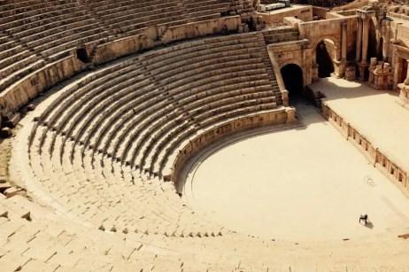 Römisches Theater, Gerasa, Jordanien