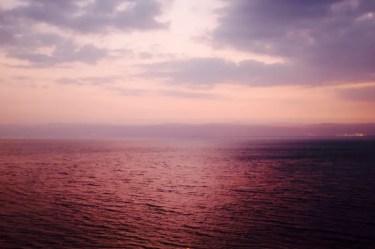 Das Tote Meer, Jordanien