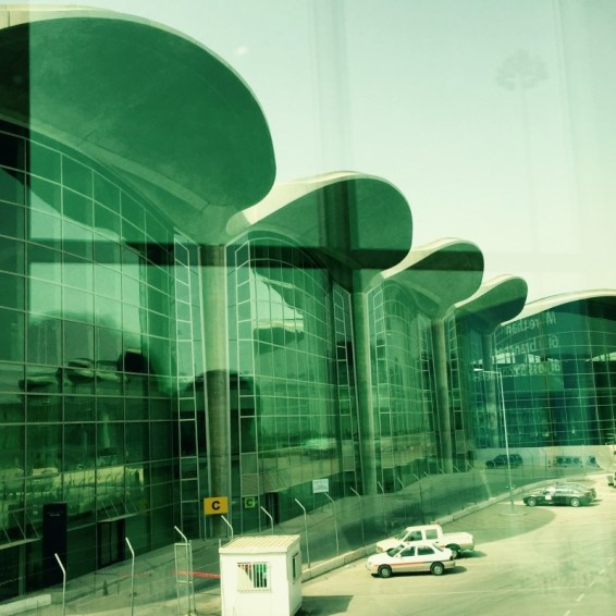 Flughafengebäude, Amman, Jordanien