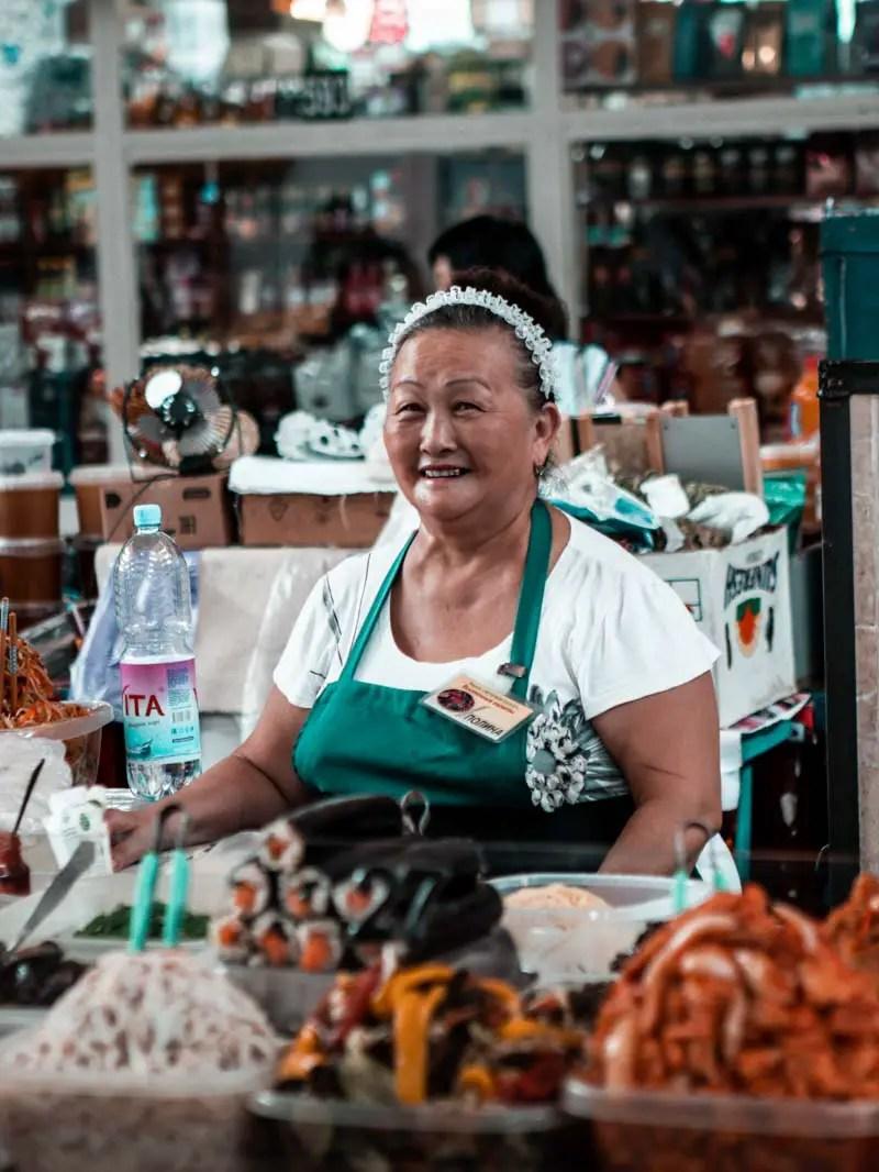 Rundreise Kasachstan: Der Green Market in Almaty