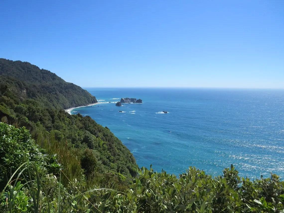 Wunderschöne Küste in Neuseeland