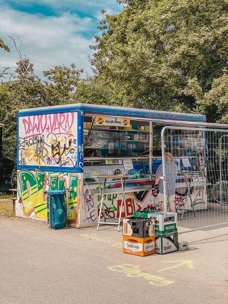 Radtour Ruhrgebiet - Erzbahnbude