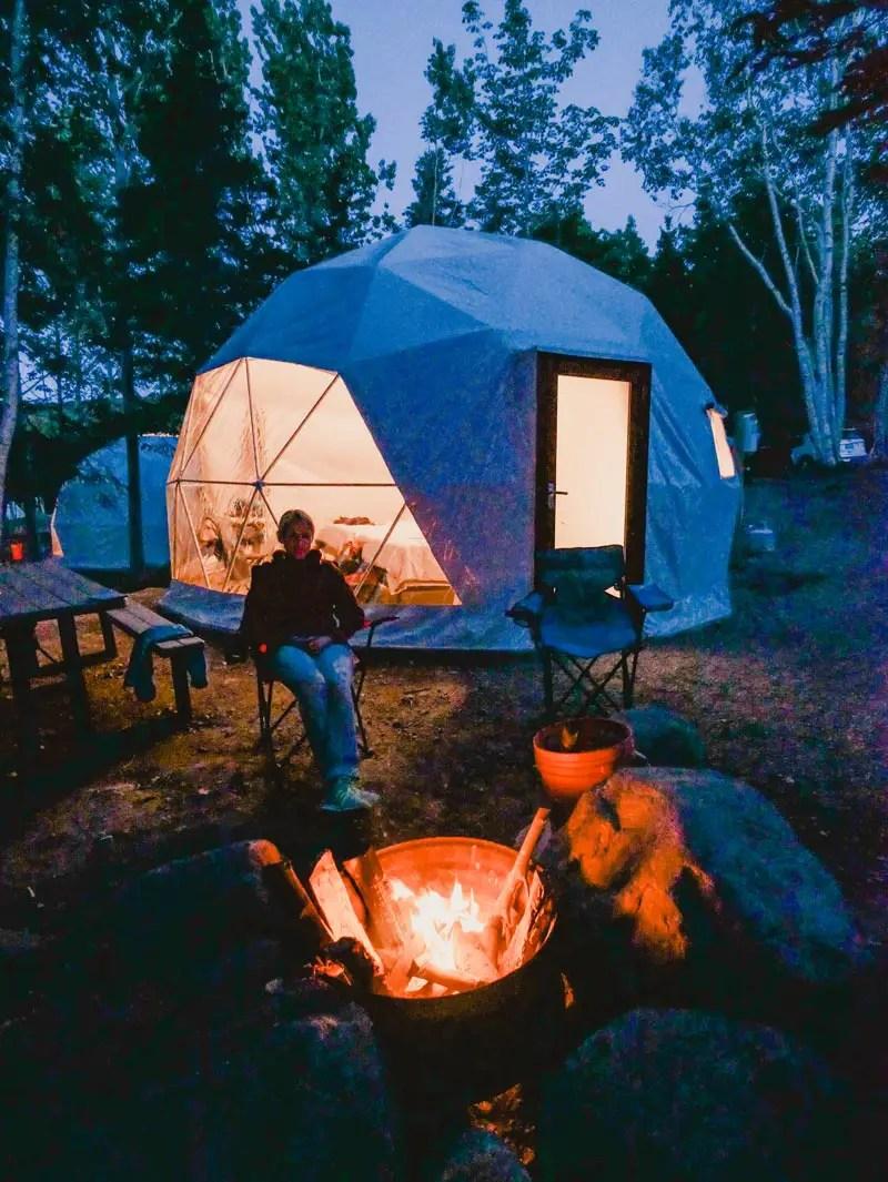 Nova Scotia Tipps – Glamping im Geodesic Dome