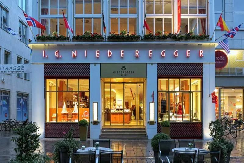 Lübeck Café Niederegger