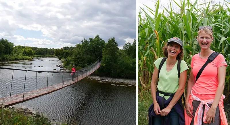 Manitoba Rundreise botanische Wanderung