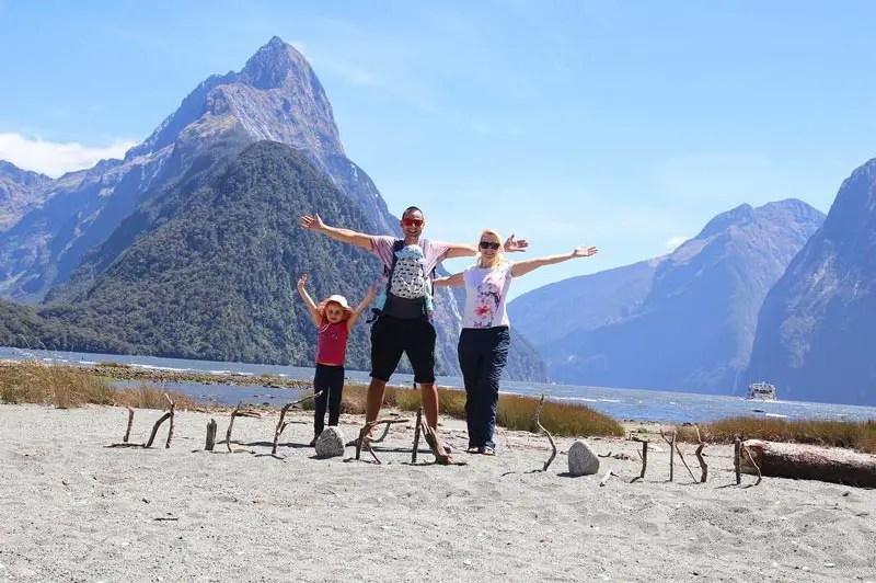 Neuseeland als Familie