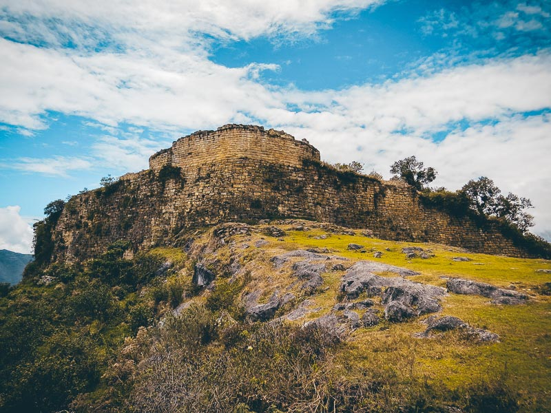 Peru Rundreise Festung Kuelap