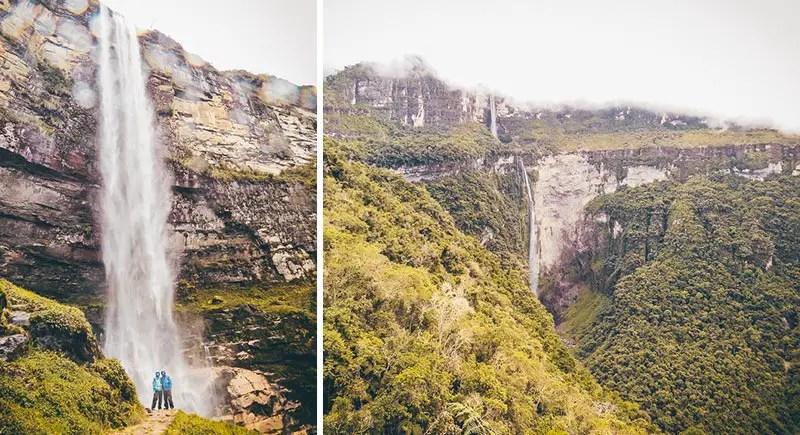 Peru Rundreise Gocta Wasserfall