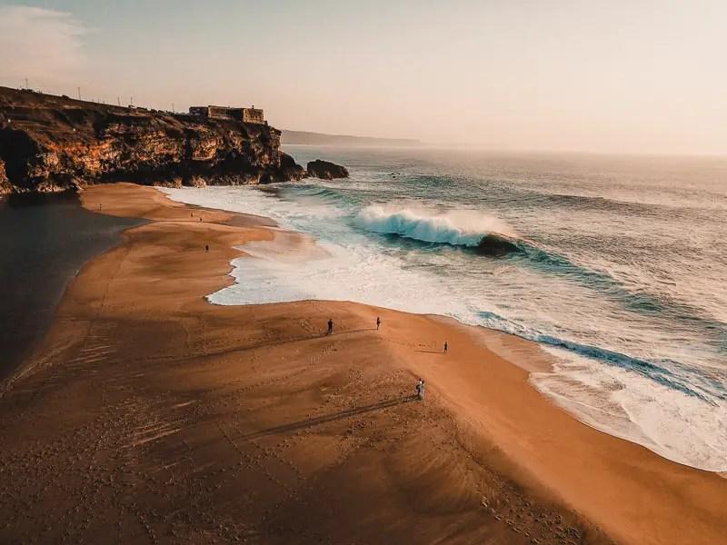 Portugal Praia du Norte