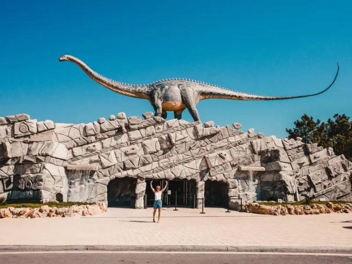 Portugal Roadtrip Dinopark Lourinha